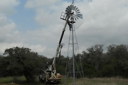 Windmill repairs and installation